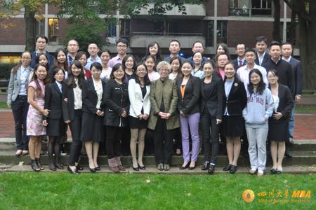 四川大学MBA美国哈佛游学之旅