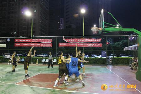 川大MBA篮球队挺进全国MBA校际篮球赛四强