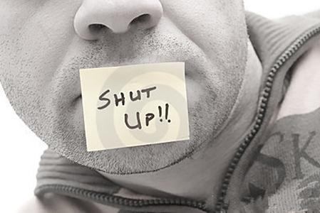 闭嘴是最高的修行!