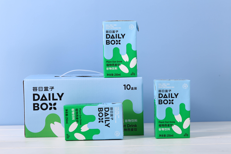无代糖无香精无防腐剂,植物奶品牌「每日盒子」完成数百万元天使轮融资