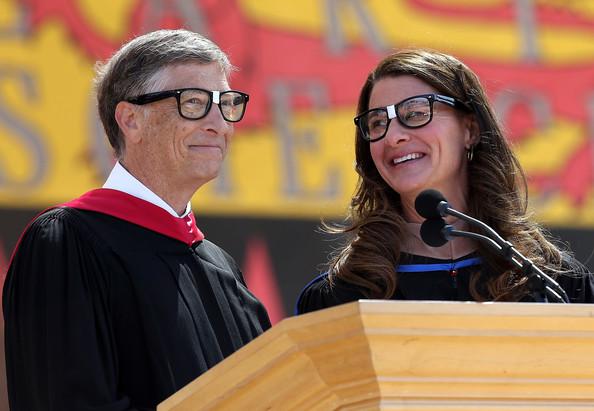 盖茨夫妇斯坦福2014毕业典礼演讲:我们需要乐观主义